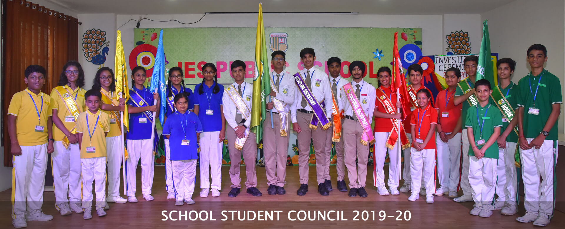 School Council 2019-20 IES Public School Bhopal